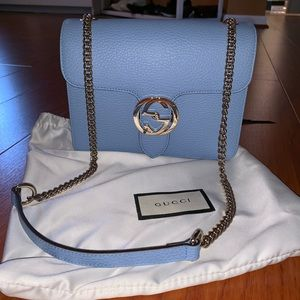 GUCCI INTERLOCKING CROSSBODY BAG